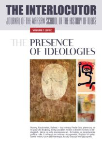 Book Cover: The Interlocutor Vol. 1: The Presence of Ideology